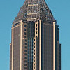 Top of the Bank of America Plaza Building in Atlanta