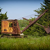 Steam shovel in coal country Indiana