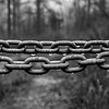 Dew-Covered Chain