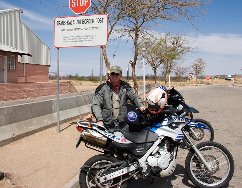 Namibia border (Kalahari Desert)