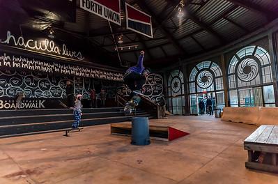 Forth Union Skatepark in Asbury Park 11/20/16