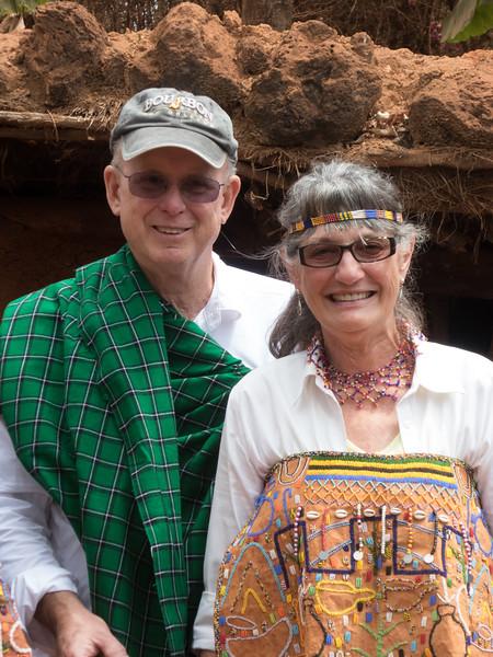 Tanzania visit to local village
