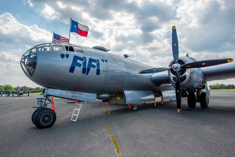 """Boeing B29 Superfortress """"Fifi"""" 5/28/16"""