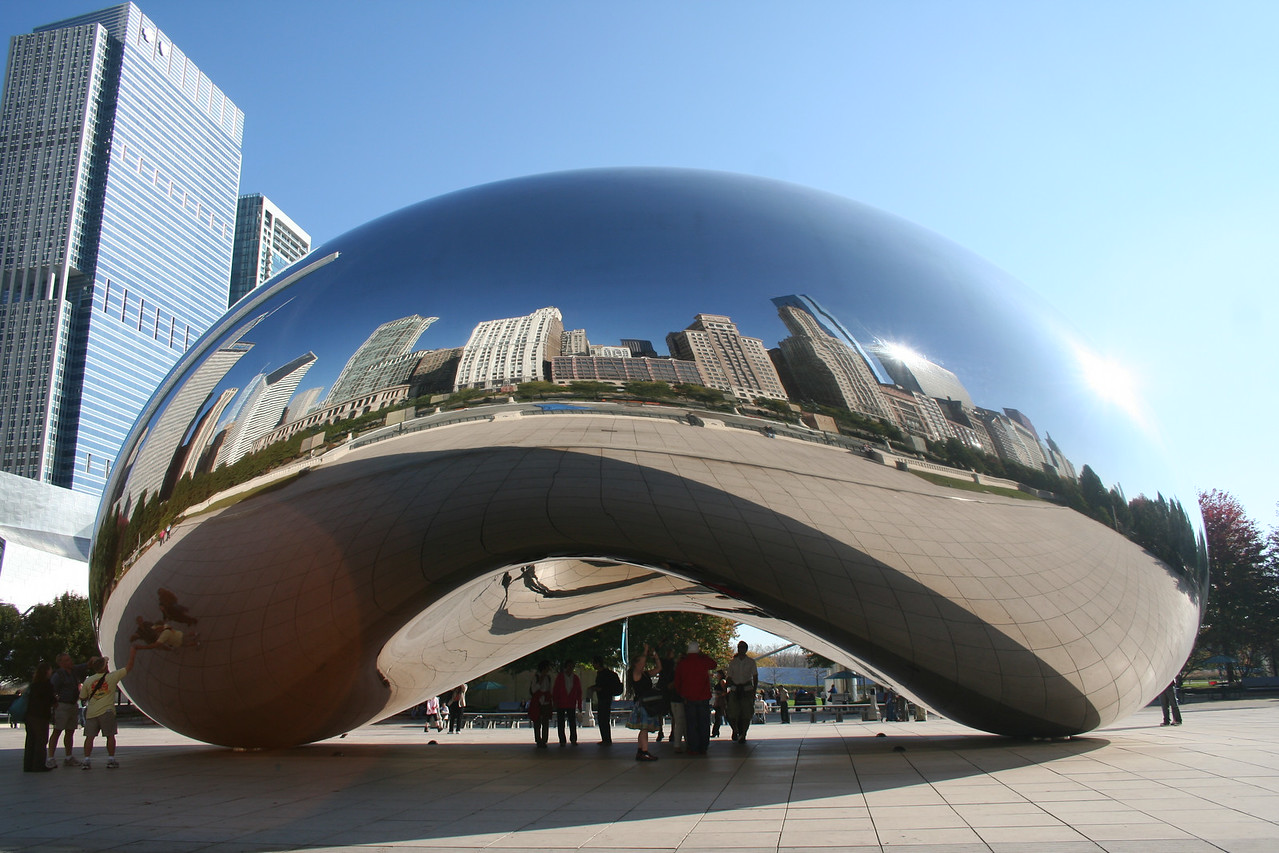 The bean (clouds gate), Chicago, IL