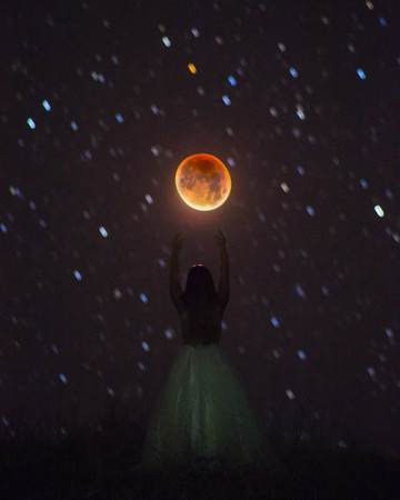 Reach for the Blood Moon