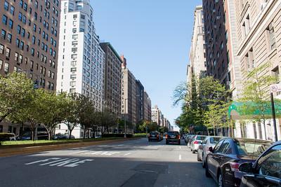 A Nice Quiet Residential Street in Manhattan