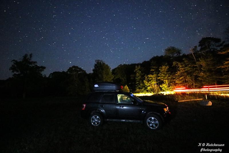 My Escape at Dark Sky Park, Mackinaw City, MI