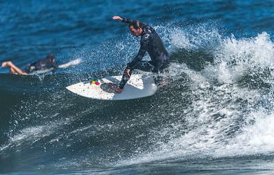 Surfer at Manasquan Beach 9/23/16