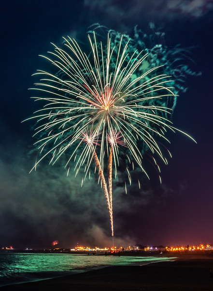 Fireworks Over Bradley Beach 7/3/19