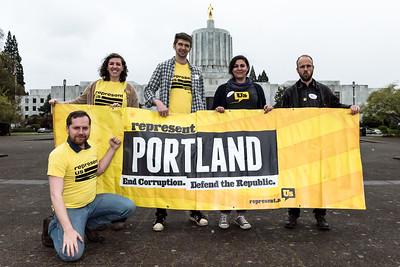 Represent. Us : Oregon State Capitol : April 20, 2017