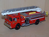 Boston Fire Department Tower Unit 2nd piece, Squrt Unit - Ford C - Athearn 1/50 scale