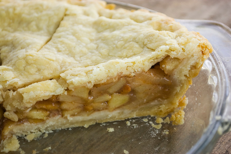 pie, apple
