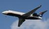 US Airways Express CRJ, on final appraoch to Boston Logan, 1-8-09.
