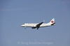 Air Canada on final approach to Boston Logan, 7-6-12