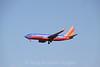 Southwest 737 on final approach to Boston Logan, 7-6-12