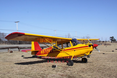 Bellanca 7KCAB Citabria at Plum Island Airport, Newbury, MA