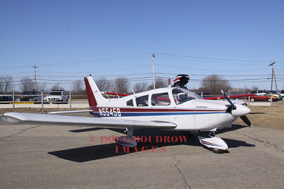 Piper Challenger at Plum Island Airport, Newbury, MA.