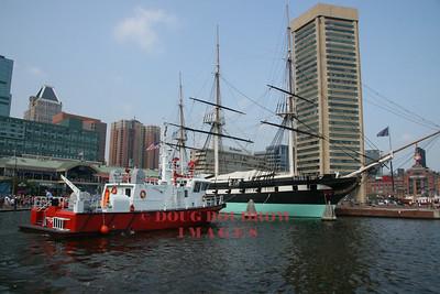 Baltimore, MD - Fireboat John R Frazier, 7-22-07