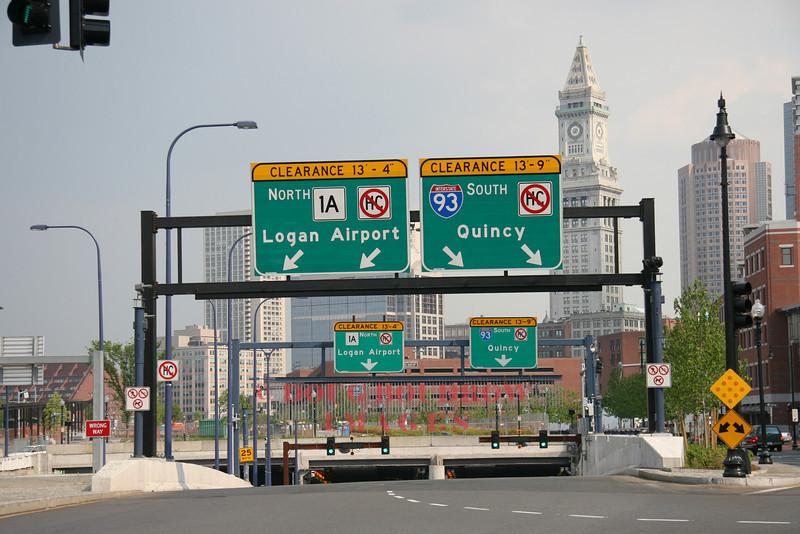 Boston, MA - I93 Entrance, 6-1-07