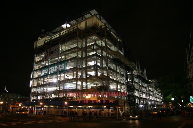 Boston, MA - Building under construction, 6-5-08
