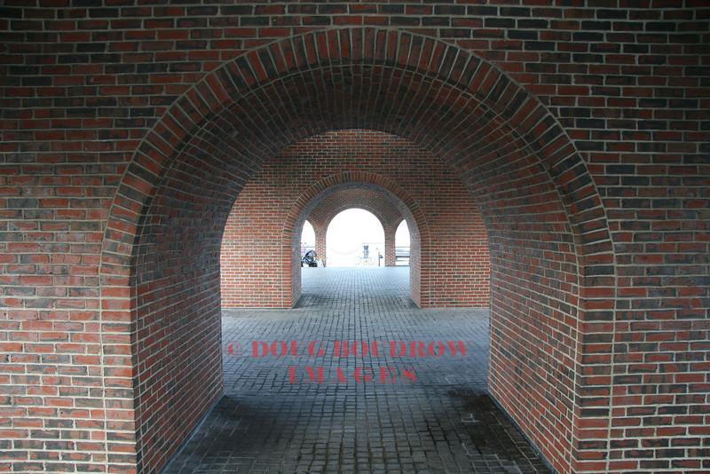 Boston, MA - Brick arches at Long Warf, 8-1-08