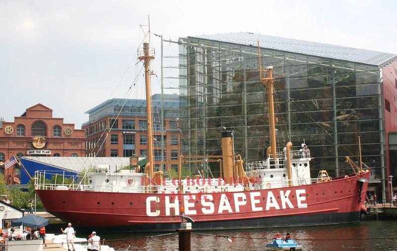 Light Ship Chesapeake - Baltimore, MD. Built in 1930.