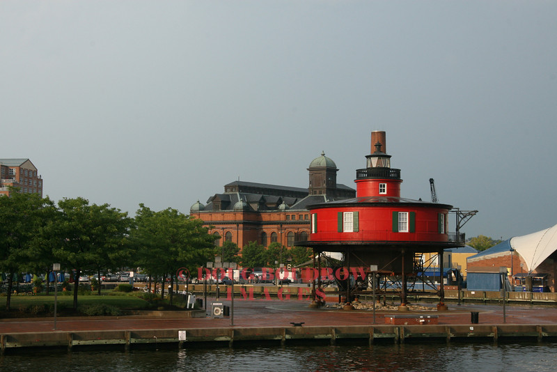 Seven Foot Knoll Light - Baltimore, MD. First lit in 1856.