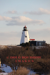 Plymouth Light - Plymouth, MA. First lit in 1843.