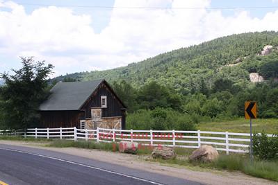 Barn on Route 302 in Bartlett, 7-12-10