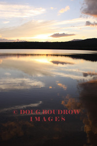 Chocorua Lake in Tamworth at dusk, 9-19-10
