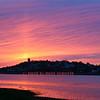Winthrop, MA - Belle Isle Marsh at sunset, 5-6-06