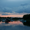 Saugus, MA - Saugus River at sunset, 6-22-07