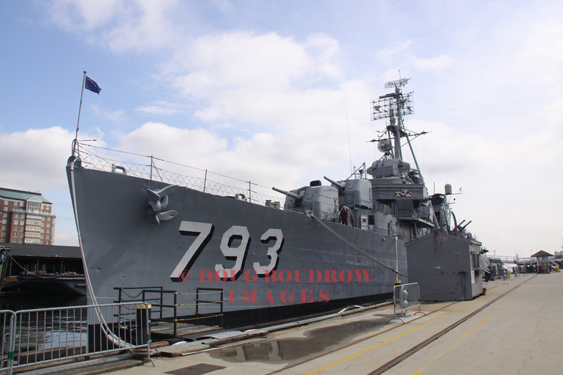 USS Cassin Young, 3-27-09