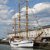 BAE Guayas (Guayaquil, Ecquador) at the Boston Fish Pier.