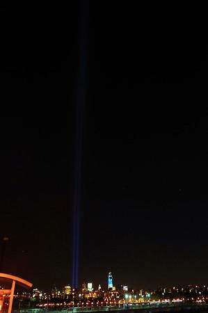 World Trade Center Lights 2012