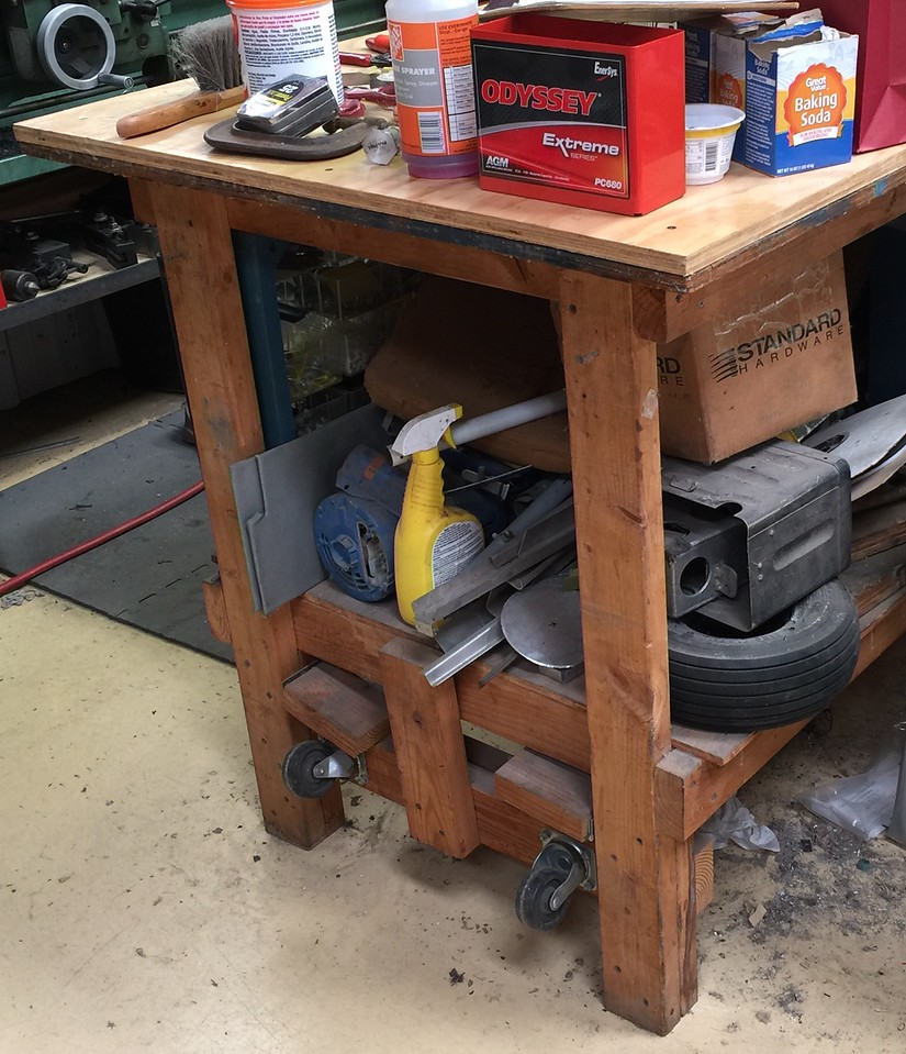 Tremendous Retractable Wheels On Workbench Vaf Forums Gmtry Best Dining Table And Chair Ideas Images Gmtryco