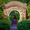 Chandor gardens Doorway