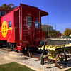 SantaFe Display Caboose, Colleyville