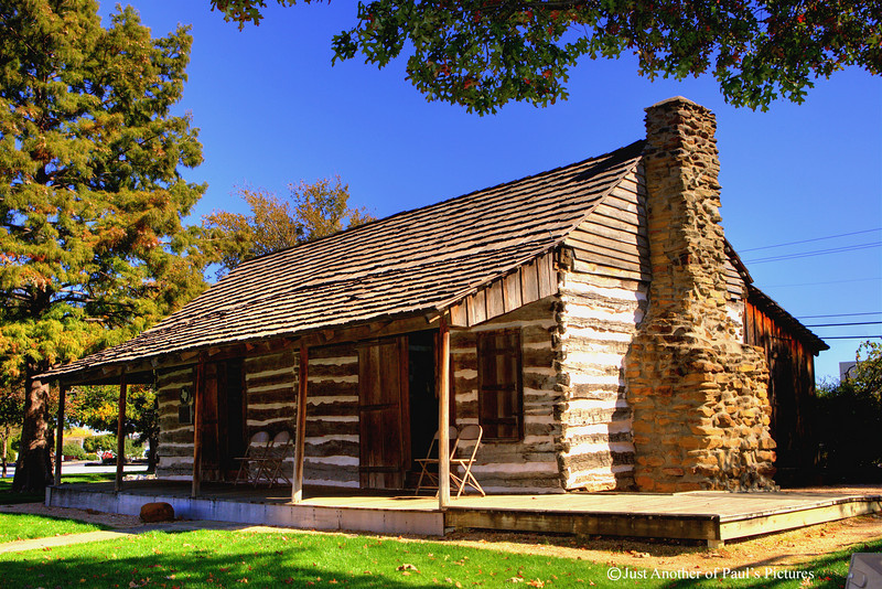 Grapevine Log Cabin