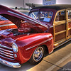 1947 Ford Woodie...Single image HDR. CCCar Show 04-21-07