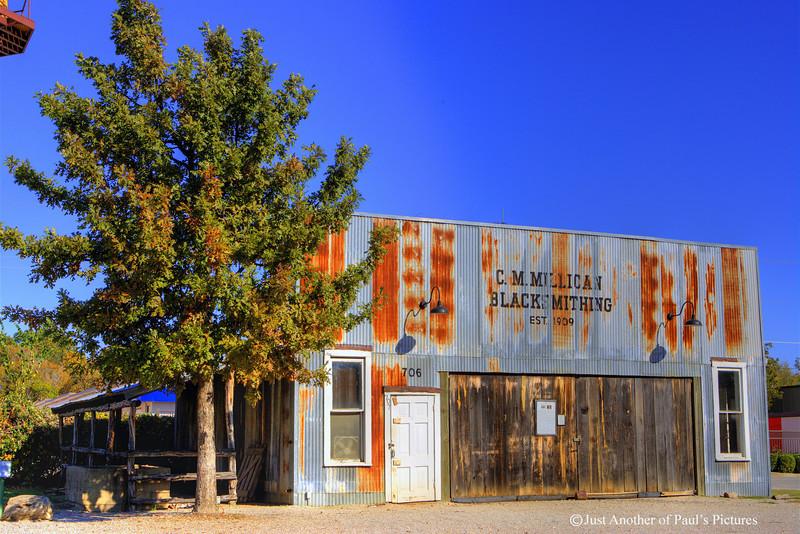 C M Millican Blacksmith Shop GVRR