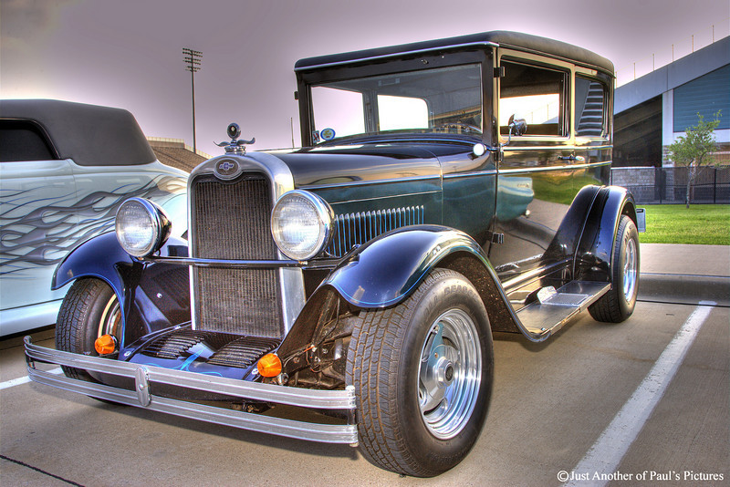Chevrolet...Single image HDR. CCCar Show 04-21-07