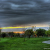 Easter Sunrise over the Park (ps)(3 Raw File HDR)
