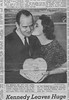 Valentines Day Wedding 1961. Picture from Star Telegram