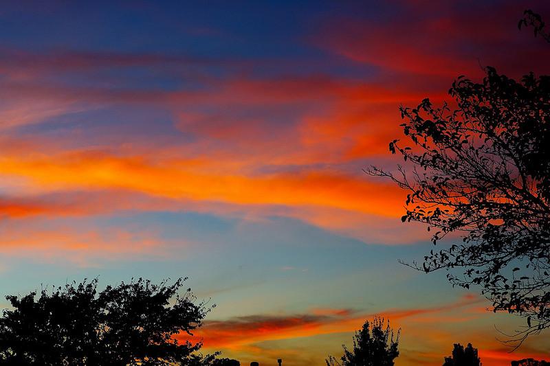 Texas Autumn Sunset November 7, 06
