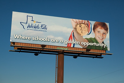 Completed billboards in Wichita Falls