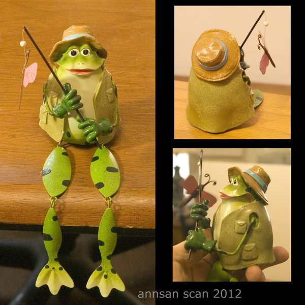 Fishing froggie - NOT for sale :-)