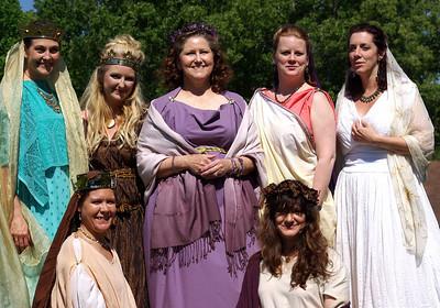 The Goddesses of Gleann Abhann