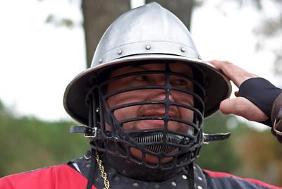 Padruig's new helm