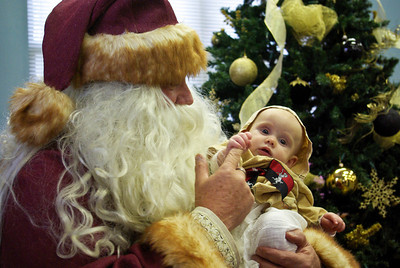 Father Christmas and Baby Margaret